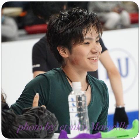 宇野昌磨選手シカゴでは朝6時から夕方の4時まで練習に励む。