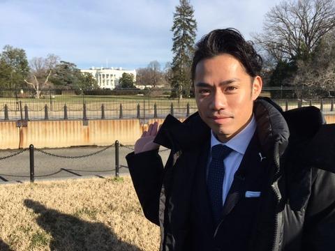 本日放送のNEWS ZEROで高橋大輔キャスターが出演。今回はアメリカ大統領就任式を取材