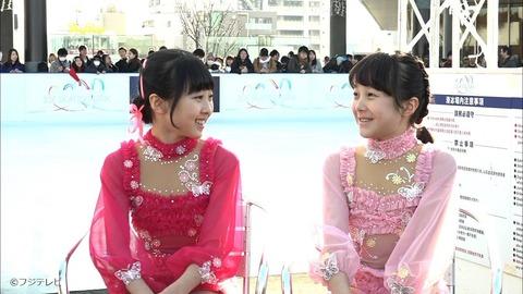 本田望結がスカイツリータウン内の特設リンクでスケーティングを披露しフィギュアと女優の両立を誓う