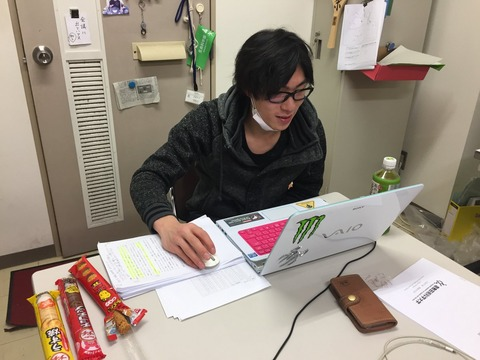 田中刑事選手、卒論書き上げに大忙し。学業とスポーツの両立は大変