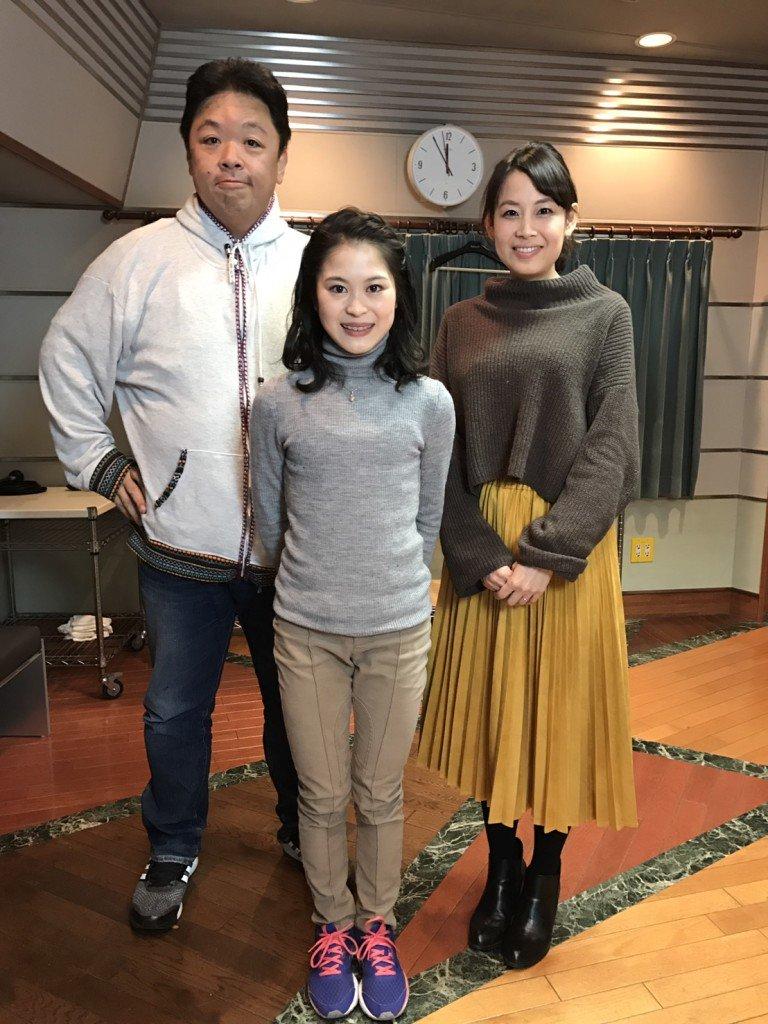 宮原知子選手が伊集院さんのラジオにゲスト出演&2017年表す漢字一文字は「挑」。色々な事に挑戦する決意を表す