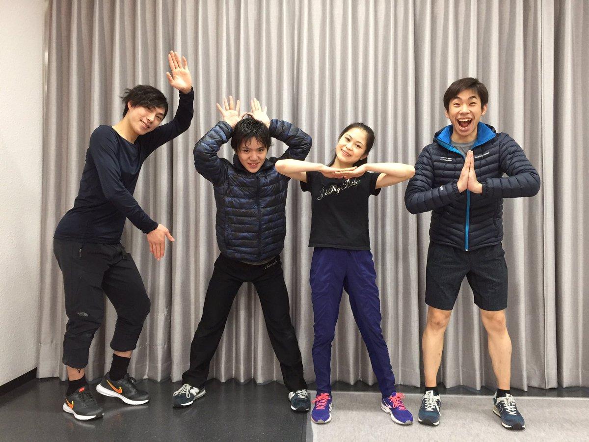 スターズオンアイス2017最終日。織田信成さんがツイッターで仲間達と一緒にポーズをとって楽しそうな写真を公開