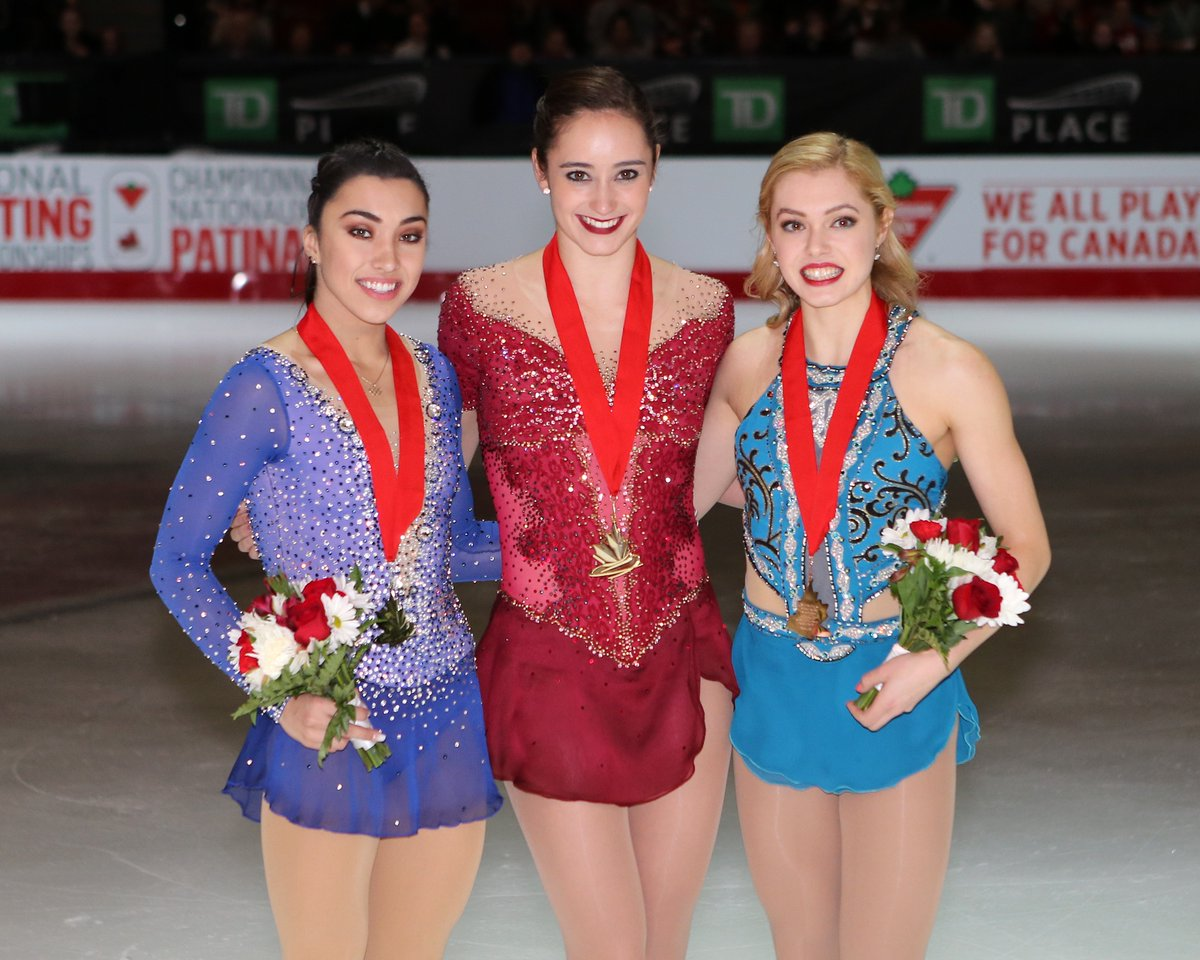 カナダ選手権2017。男子パトリックチャン・女子ケイトリンオズモンドが優勝
