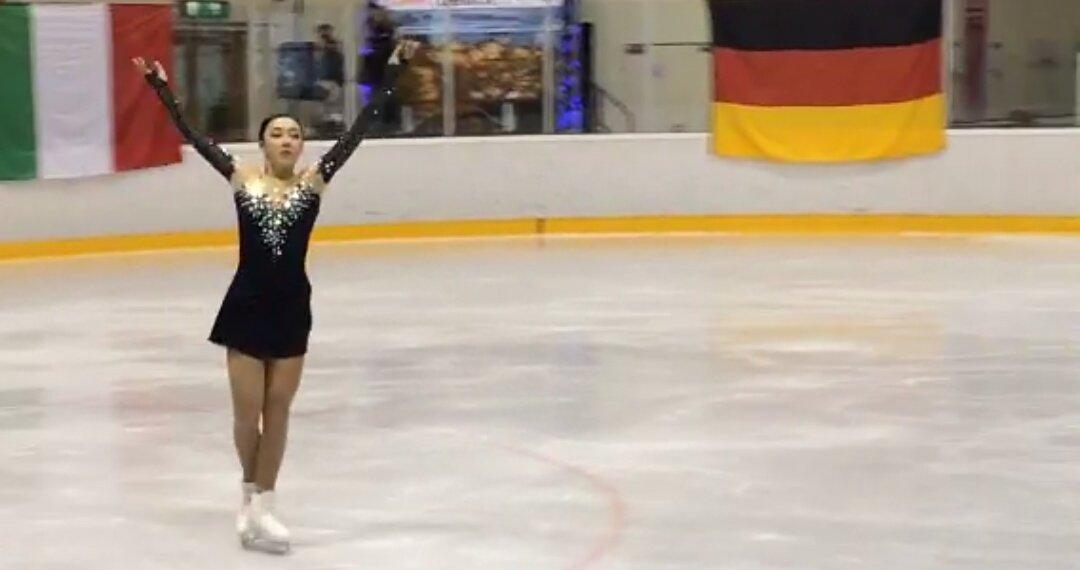 プランタン杯2017。女子・本郷理華が162・56点で優勝