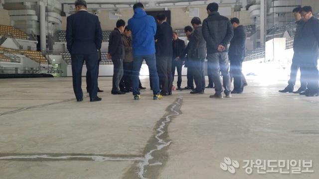 平昌五輪で手抜き工事。カーリング会場の床に亀裂が発生し「五輪不適合」で全面再施工へ