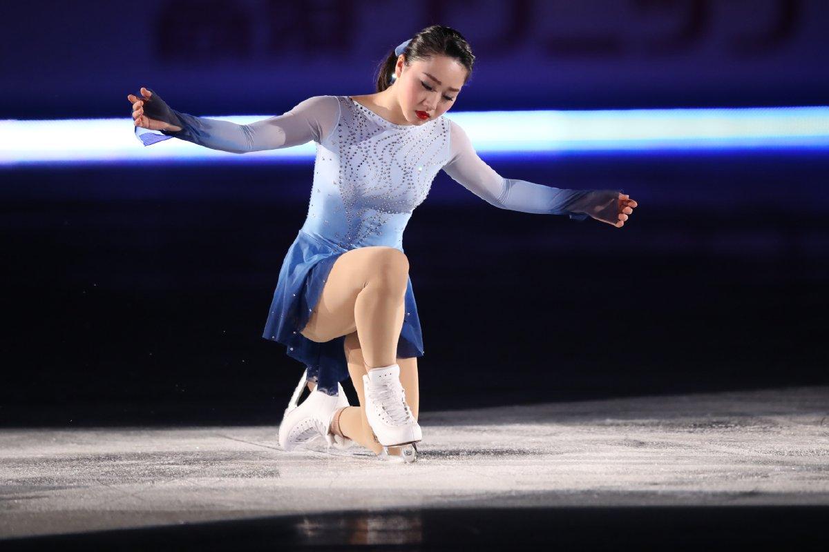 国別対抗戦2017。樋口新葉がエキシビションで妖艶な演技を披露し観客を魅了