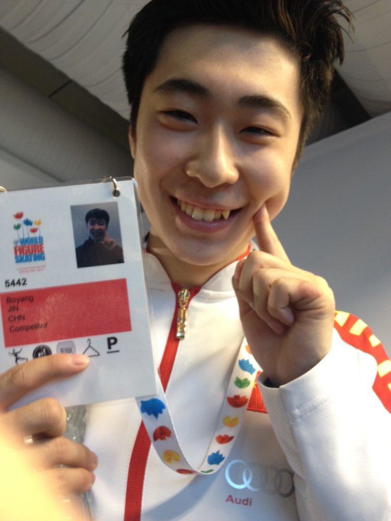 世界選手権2017でボーヤン・ジン3位に本人も満面の笑み。エキシビションにはカウボーイ姿で登場