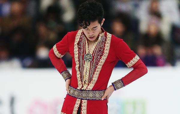 スケート靴の調整に失敗?世界選手権初出場のネイサン・チェンは4回転6度不発と力出せず