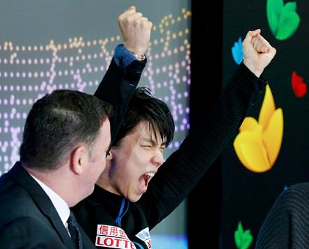 羽生結弦が逆転優勝した世界選手権男子フリーの視聴率を発表。平均視聴率は18・1%・瞬間最高は22・7%