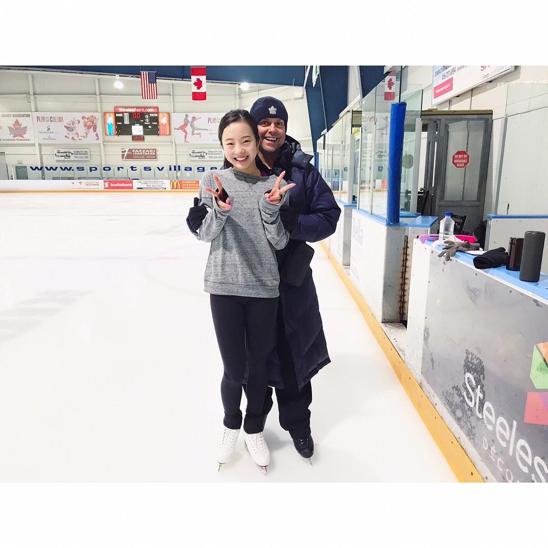 カナダで振付をしている本田真凜がデヴィッド・ウィルソンとのツーショット写真を公開。どんなプログラム演技に仕上がるのか楽しみ
