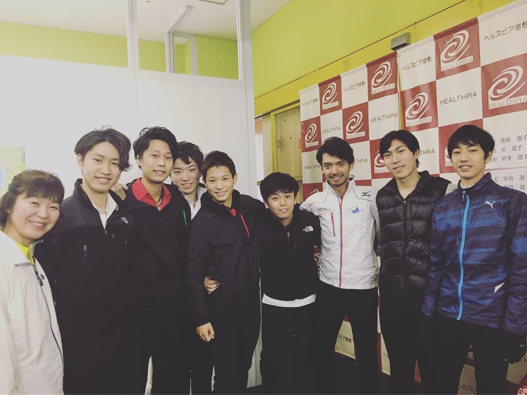 倉敷ファン感謝デーが開催され倉敷を拠点に活動する選手達が華麗な滑りを披露