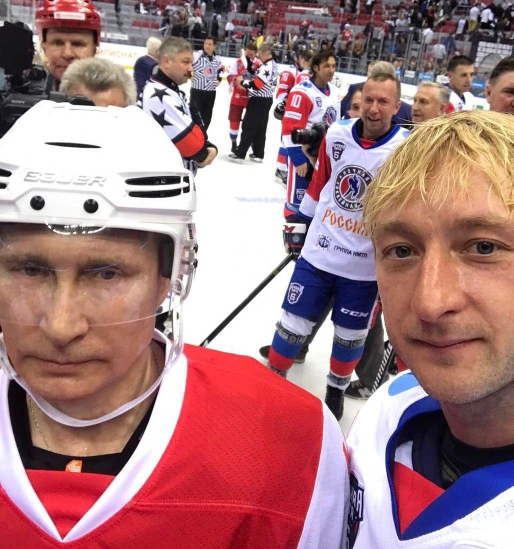 プーチン大統領とプルシェンコがアイスホッケーで対決。気になる勝負の結果は?