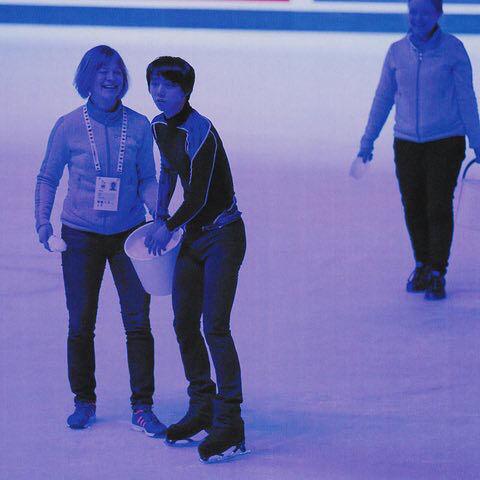 ヘルシンキで行われた世界選手権で羽生結弦選手がリンクの製氷作業を手伝っていたことが判明