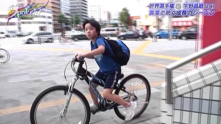 宇野昌磨・本郷理華・田中刑事・高橋大輔・各選手達の自転車がどれも特徴があって可愛らしい