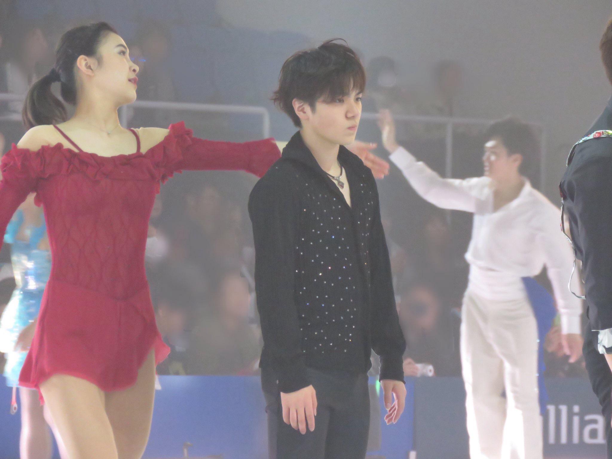 魂が抜けた表情の宇野昌磨選手がアイドルみたいでカッコいいと話題に