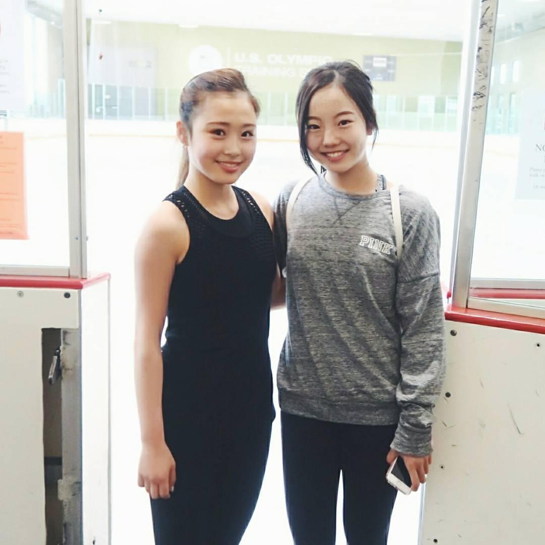 アジアの美少女。笑顔の本田真凜ちゃんとメイシーちゃんのツーショット写真を公開。