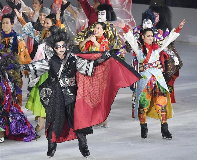 歌舞伎とフィギュアスケートの融合。市川染五郎・荒川静香・高橋大輔らが共演した史上初の氷上アイスショーに観客も大満足