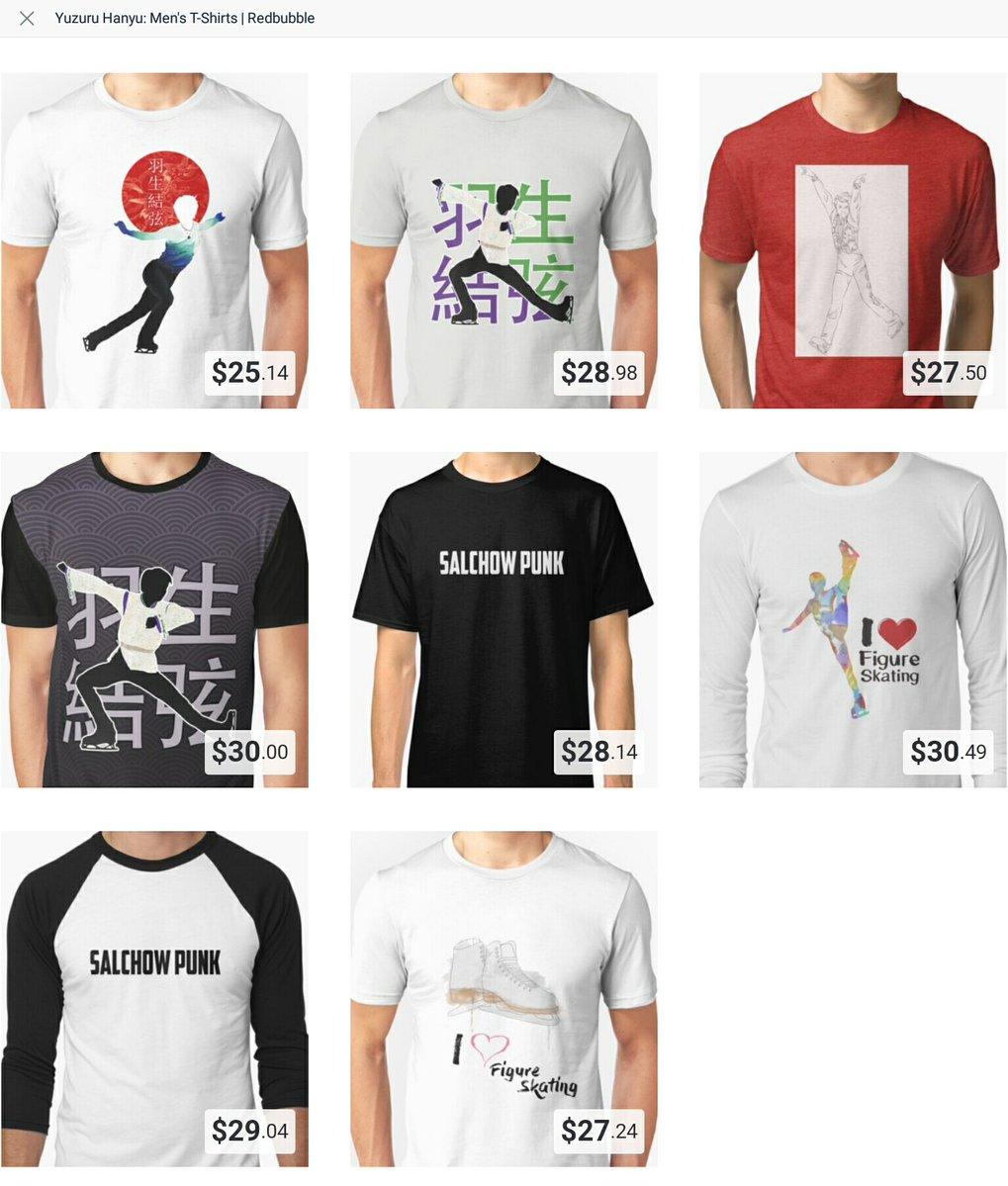 中国で販売されている羽生結弦&プロトコルTシャツを発見。愛され過ぎ(笑)