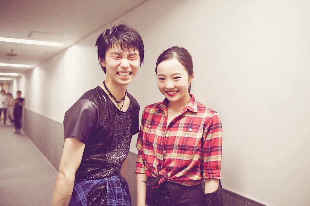 本田真凜と羽生結弦は最強コンビ?自然体の笑顔が素敵なツーショット写真を公開