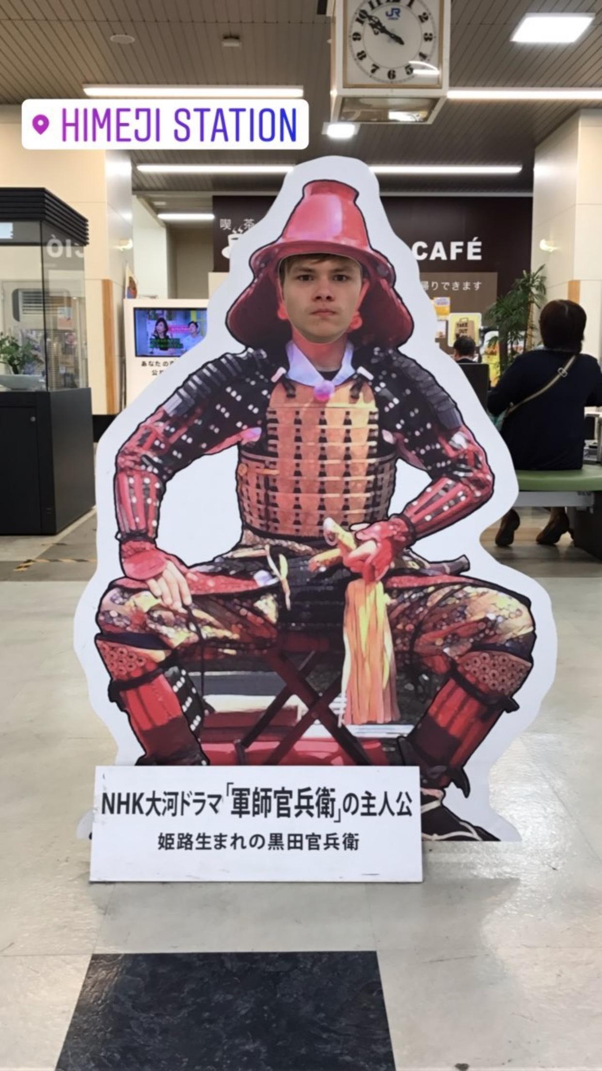 ラトデニ君が姫路城で旅行を満喫。広島にも足を運び日本滞在を楽しんでるみたいだ