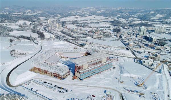 2018平昌五輪。 韓国大統領「南北合同チーム」「開会式は共に入場行進」を提案