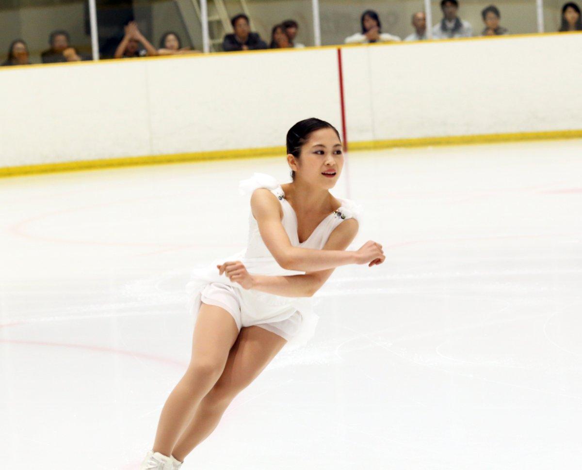 宮原知子が約半年ぶりに公の場で滑りを披露。今季フリー曲は蝶々夫人