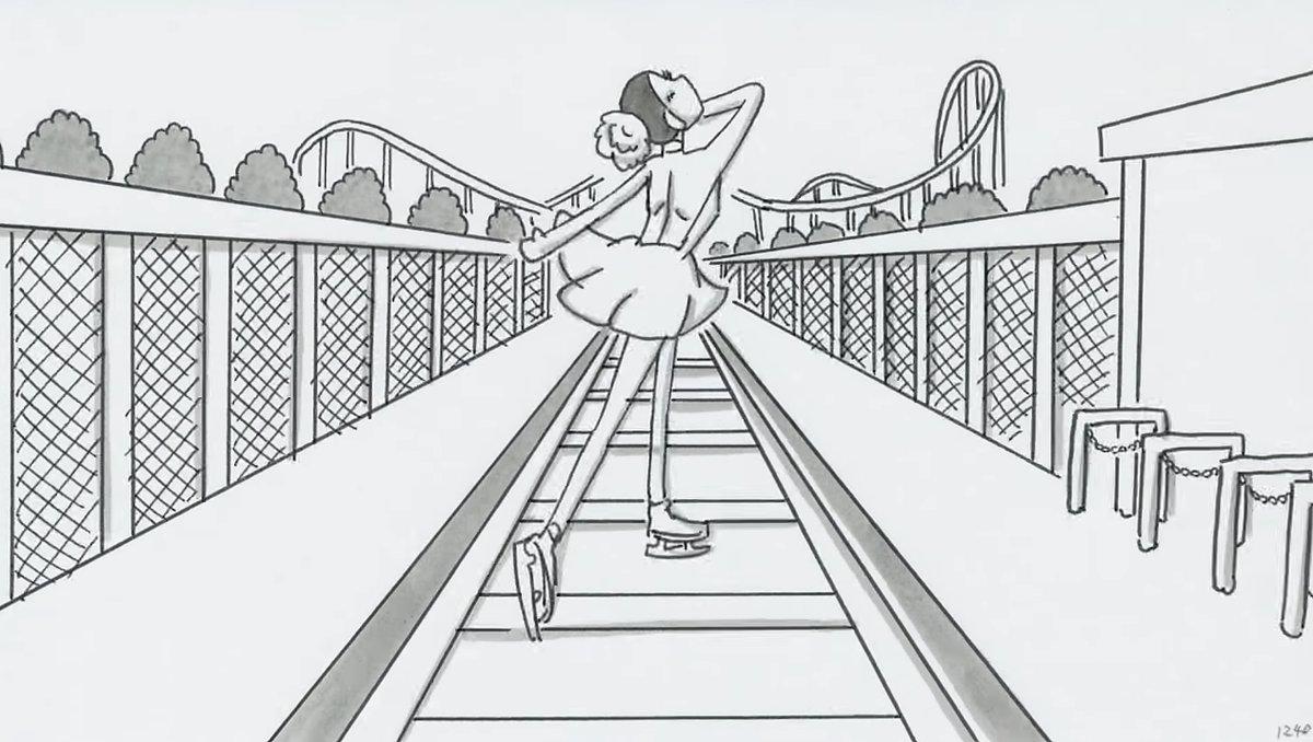 感動して涙が止まらない。浅田真央のスケート人生を描いた鉄拳のパラパラ漫画の動画を全編解禁