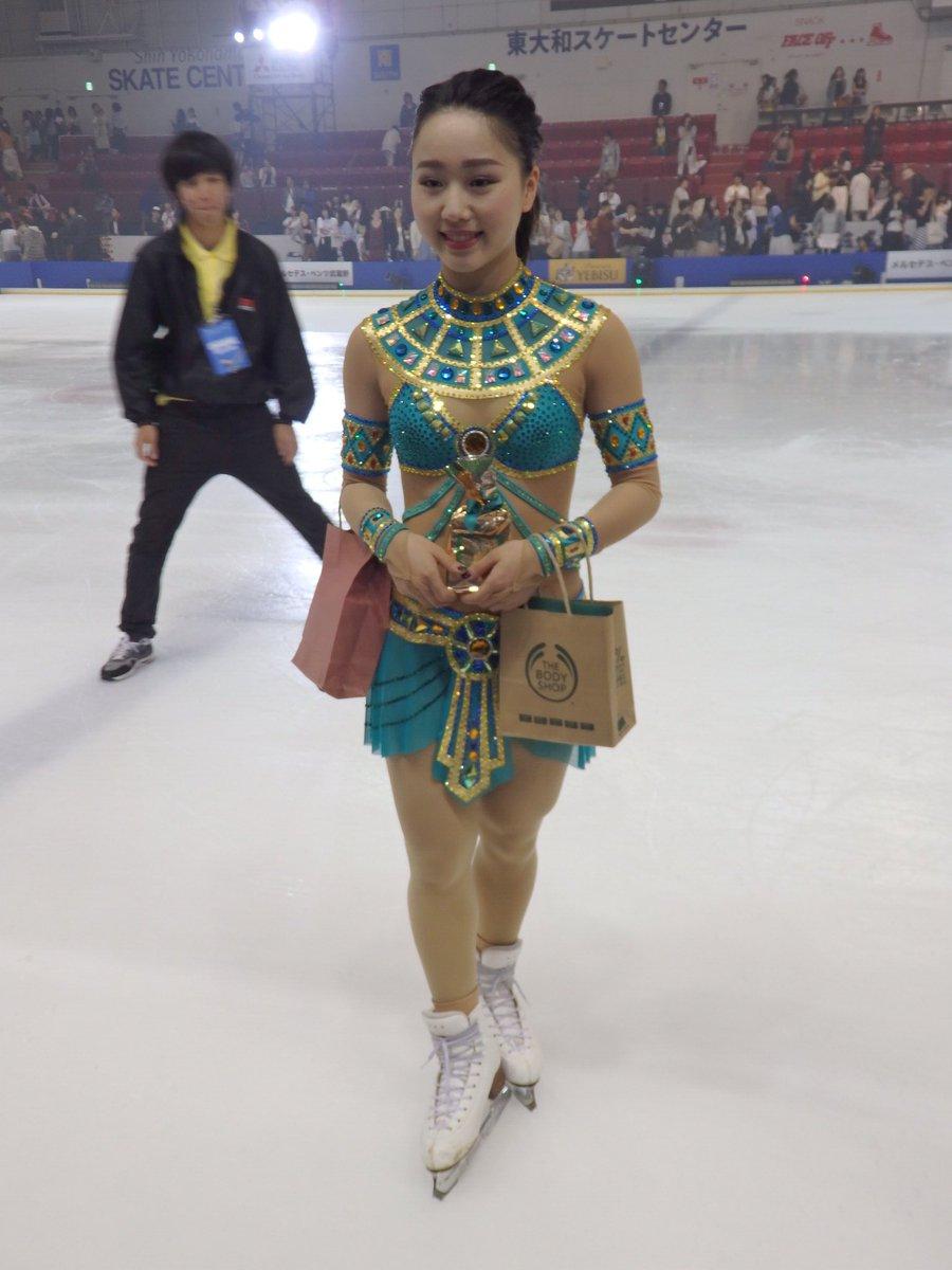 姉貴分の安藤美姫さんから衣装を借りた樋口新葉選手のクレオパトラが綺麗。