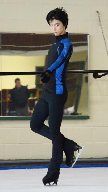 羽生結弦がカナダで語った「自分の強み」と「理想のスケート」