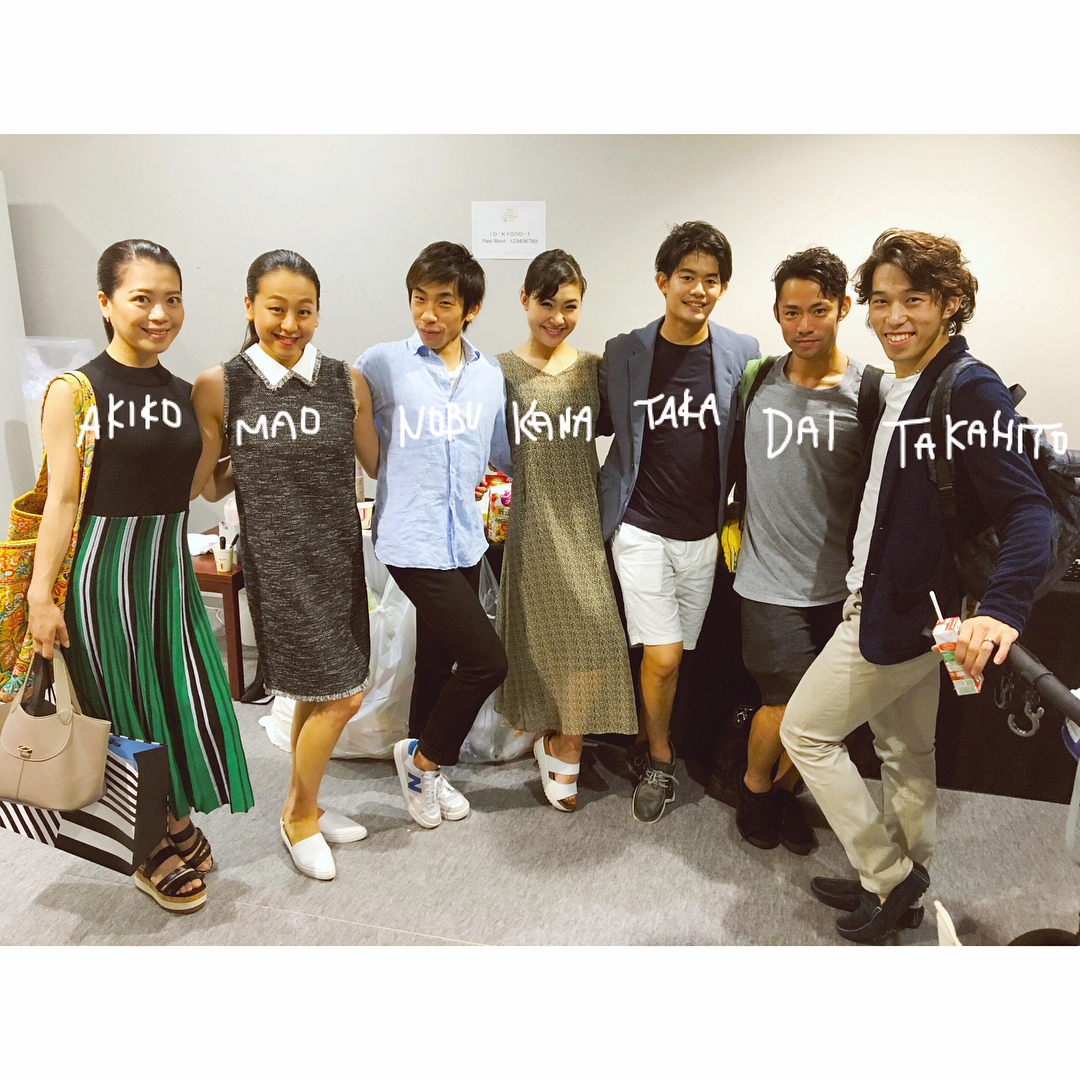まるで同窓会?浅田真央らザ・アイスに出演した仲間達が全員集合。