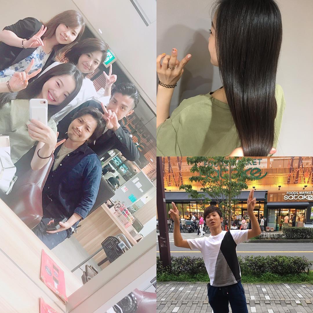 本田真凜ちゃんの綺麗なサラサラストレートヘアーを公開。