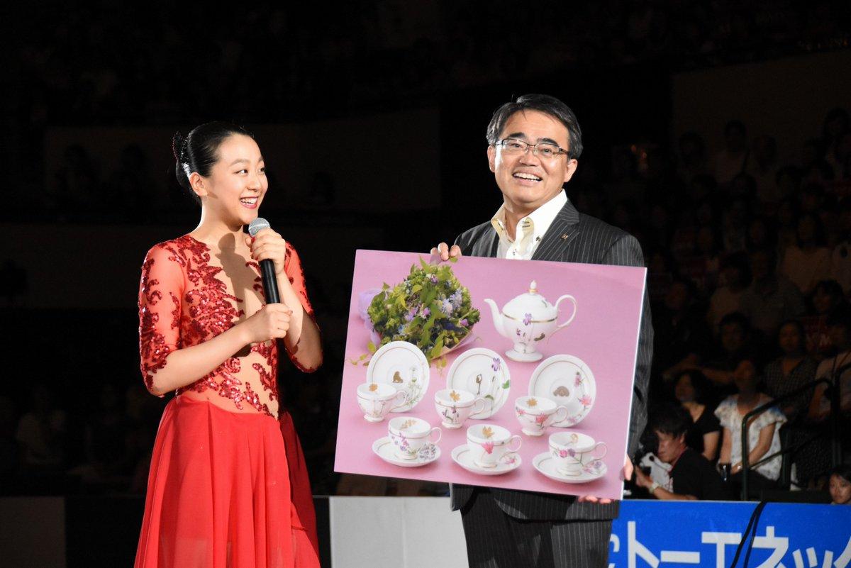 浅田真央さんに初の「愛知県民栄誉賞」と「名古屋市特別スポーツ功労賞」アイスショー「THE ICE」で授賞式