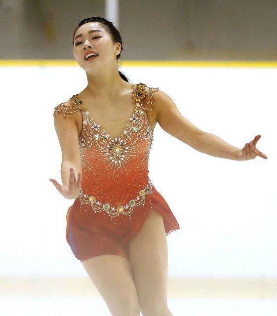 樋口新葉が新しいゴージャスな衣装でSP新プログラム「ジプシーダンス」を初披露