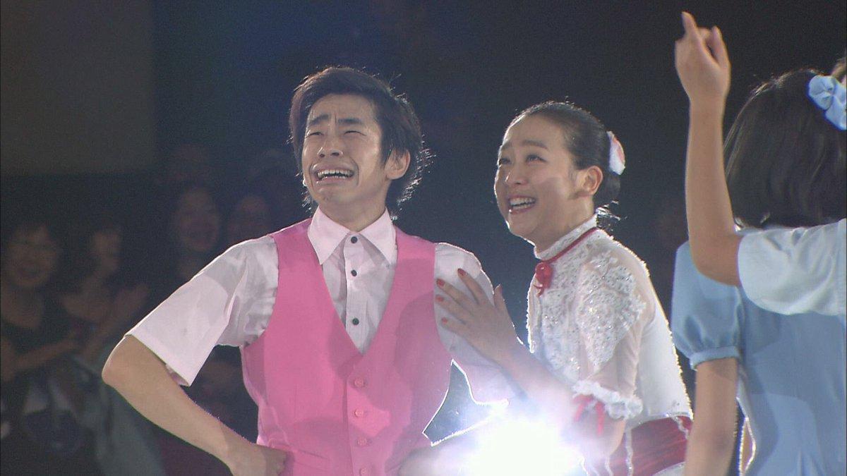 ザ・アイス2017。浅田真央にサプライズでローリーニコル氏が登場するシーンが何度見ても感動的