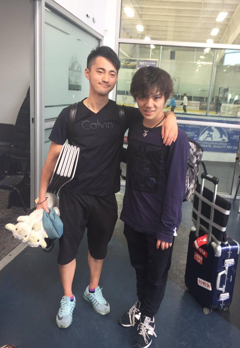 宇野昌磨&竹内孝太郎の素敵な好青年がツーショット。年々どんどんかっこよくなっていく