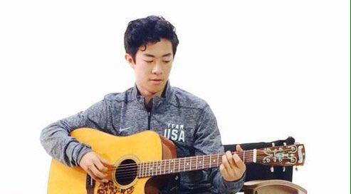 ネイサン・チェンがギターを弾く動画を公開。才能豊かで渋い