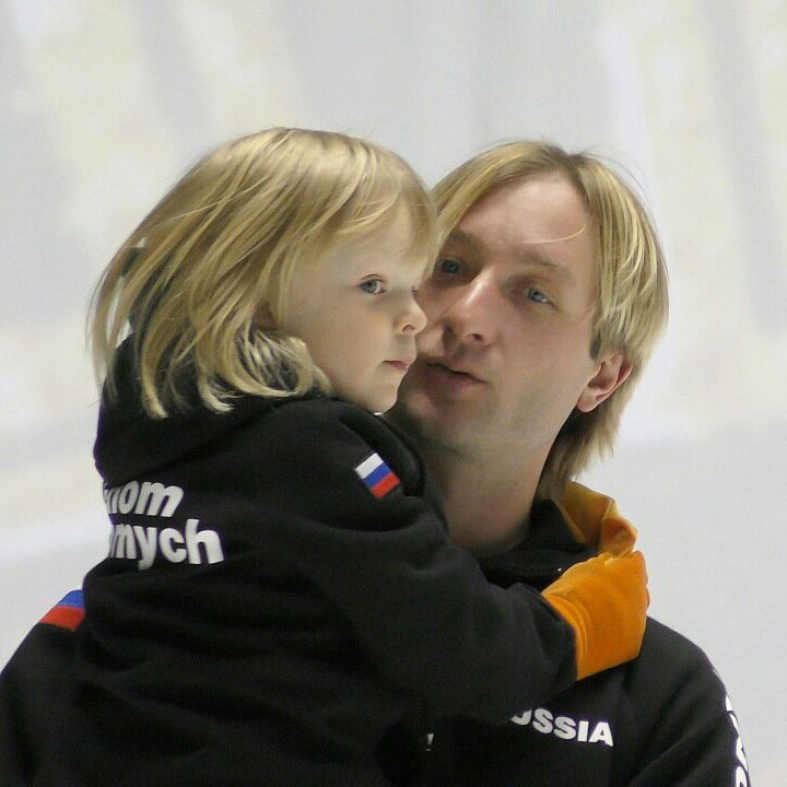 世界一かわいくていとしい親子?プルシェンコと息子のサーシャくんが可愛すぎる