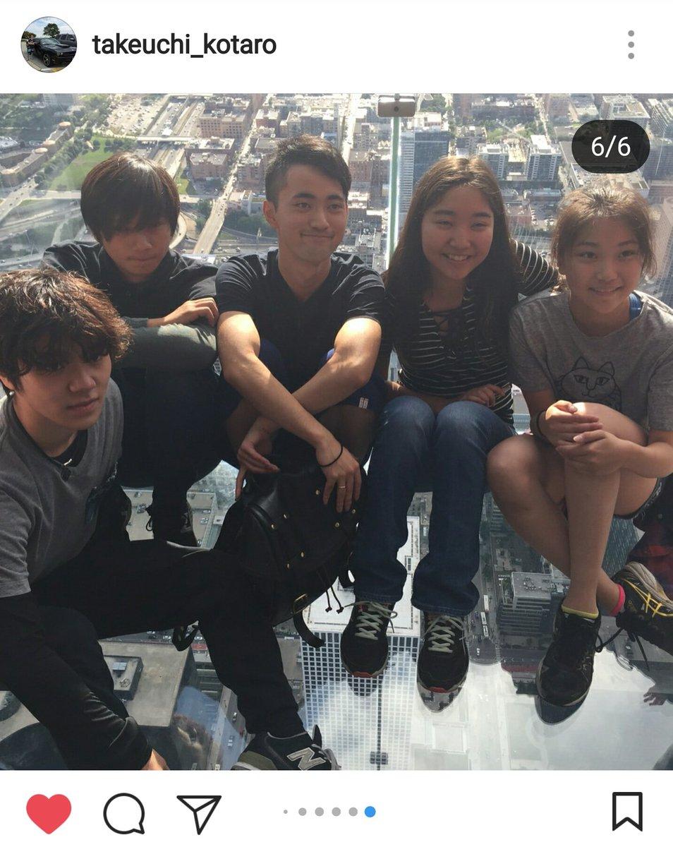 床が透けガラスの高層ビルで肝試し?宇野昌磨&竹内孝太朗のシカゴ観光が楽しそう