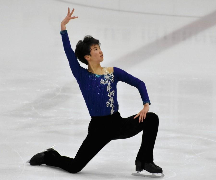 USインターナショナル2017。友野一希が8位発進に「雰囲気違う」。国際大会ほろ苦デビュー