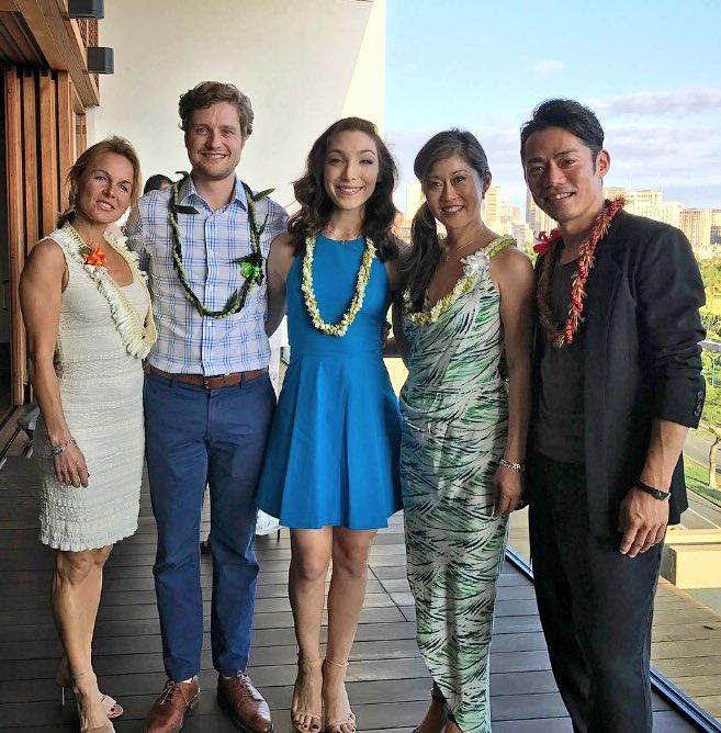 少しふっくらしてる?高橋大輔がハワイでエンジョイ&荒川静香はホノルルで天使に?
