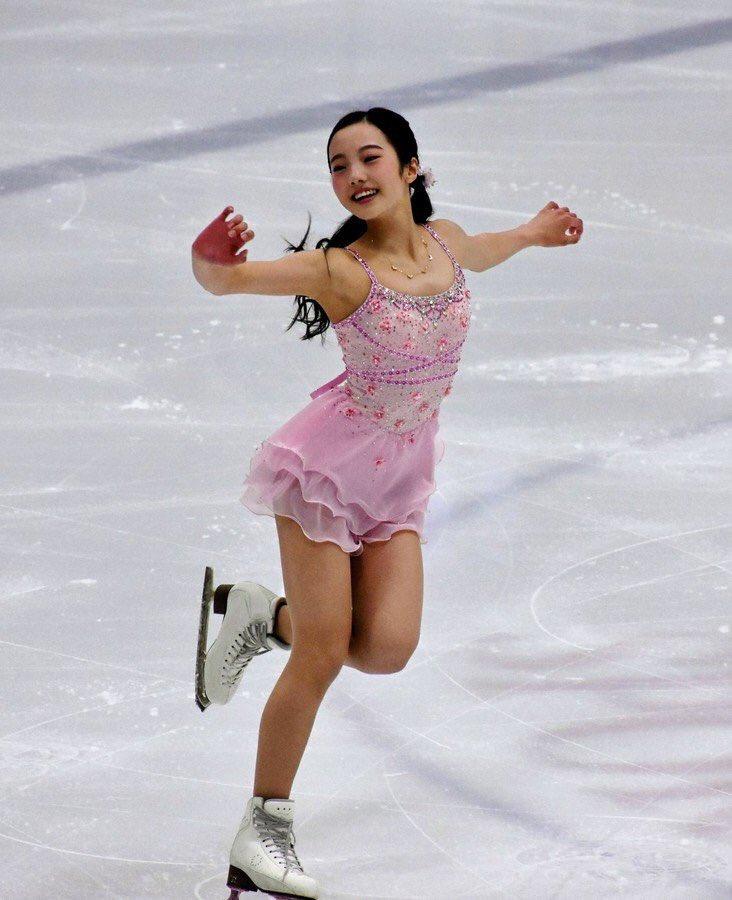 USインターナショナル2017。女子SPは本田真凜が1位スタート。シニアデビュー戦は好発進