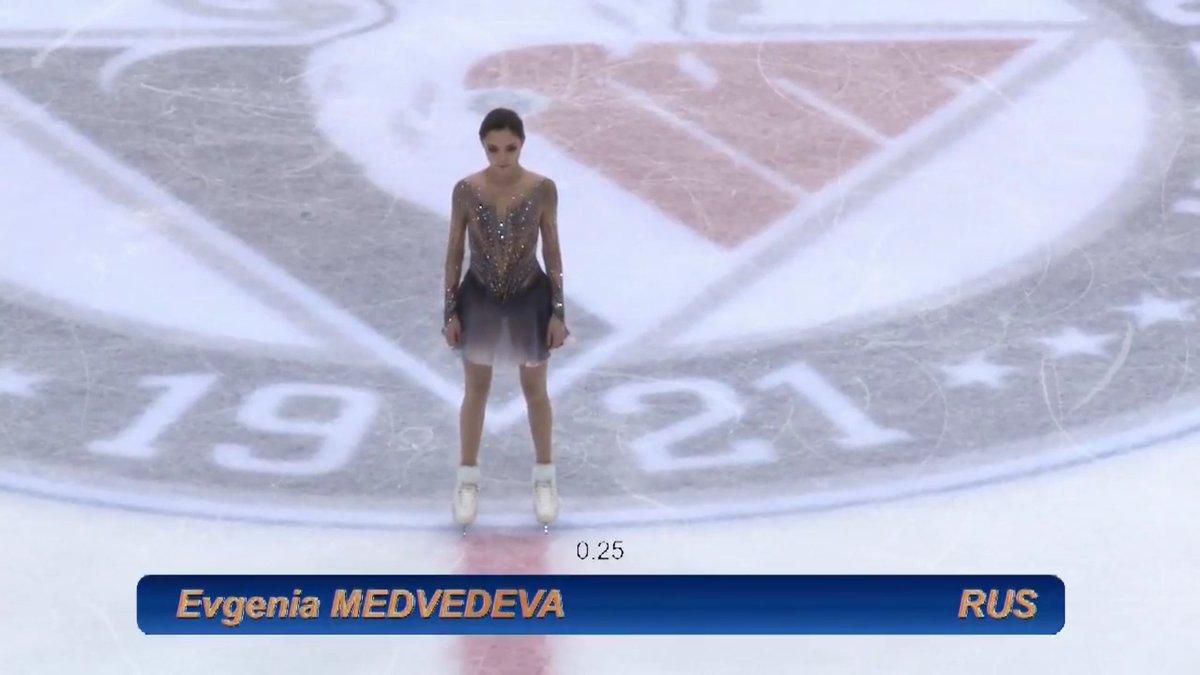 オンドレイネペラ杯2017。女子FSエフゲニア・メドベージェワが優勝。本郷理華は2位に