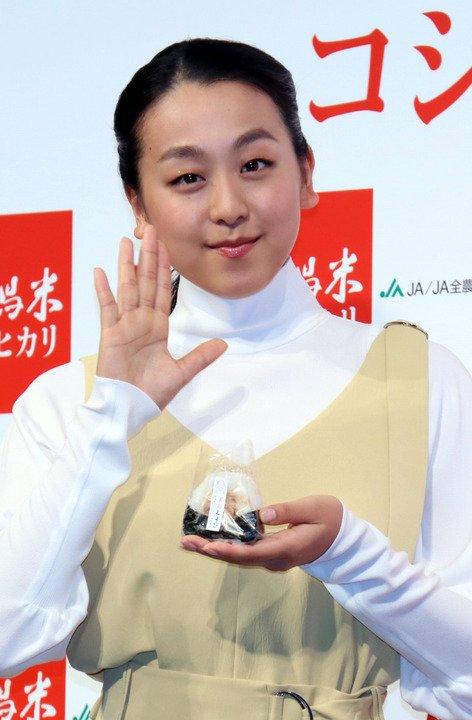 今日誕生日の浅田真央「27歳。もう一度気持ち切り替えて再スタート」新潟米コシヒカリ新CM発表会に登場