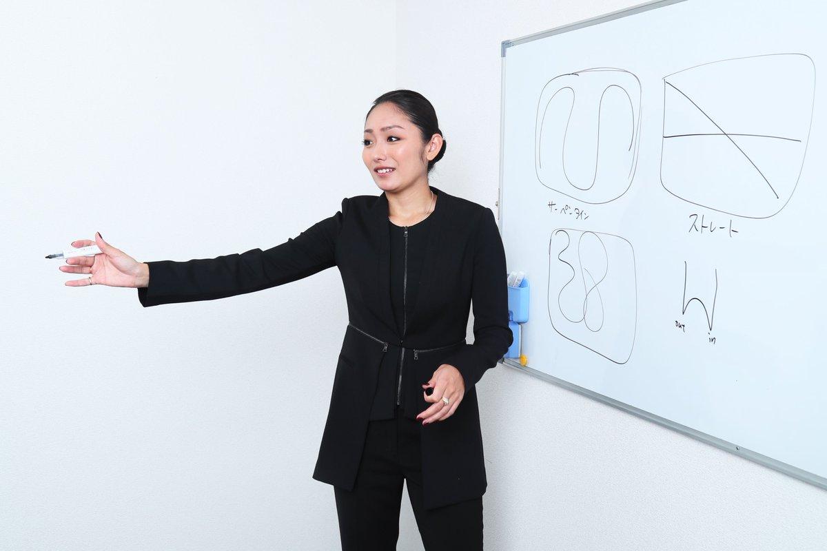 安藤美姫先生によるフィギュアふむふむ授業。採点の仕組みについて解説
