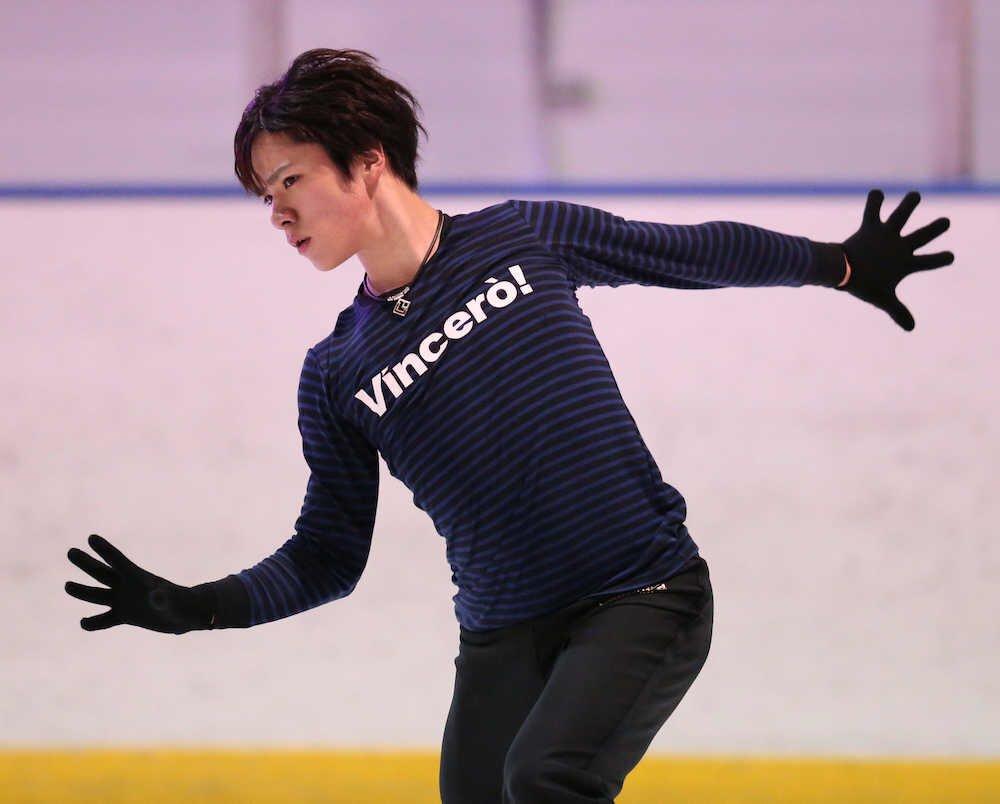 宇野昌磨が4回転ジャンプ成功連発も苦笑い「今日だけです」。スケートカナダ27日開幕