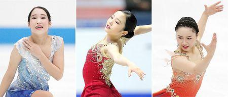 三原舞依・樋口新葉・本田真凜の3人が五輪代表を争う対決。3日から中国杯いよいよ開幕