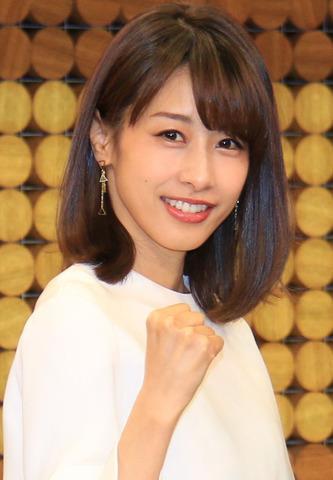 平昌オリンピック。加藤綾子フリーアナウンサーが五輪キャスター初挑戦。羽生選手にメダル期待「信じてる」