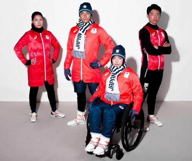 アシックスが平昌五輪日本代表の公式スポーツウエアを発表