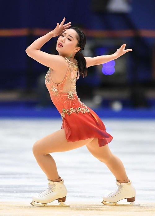 中国杯2017。樋口新葉がSP70・53点で2位発進!本田真凜は6位・三原舞依は7位
