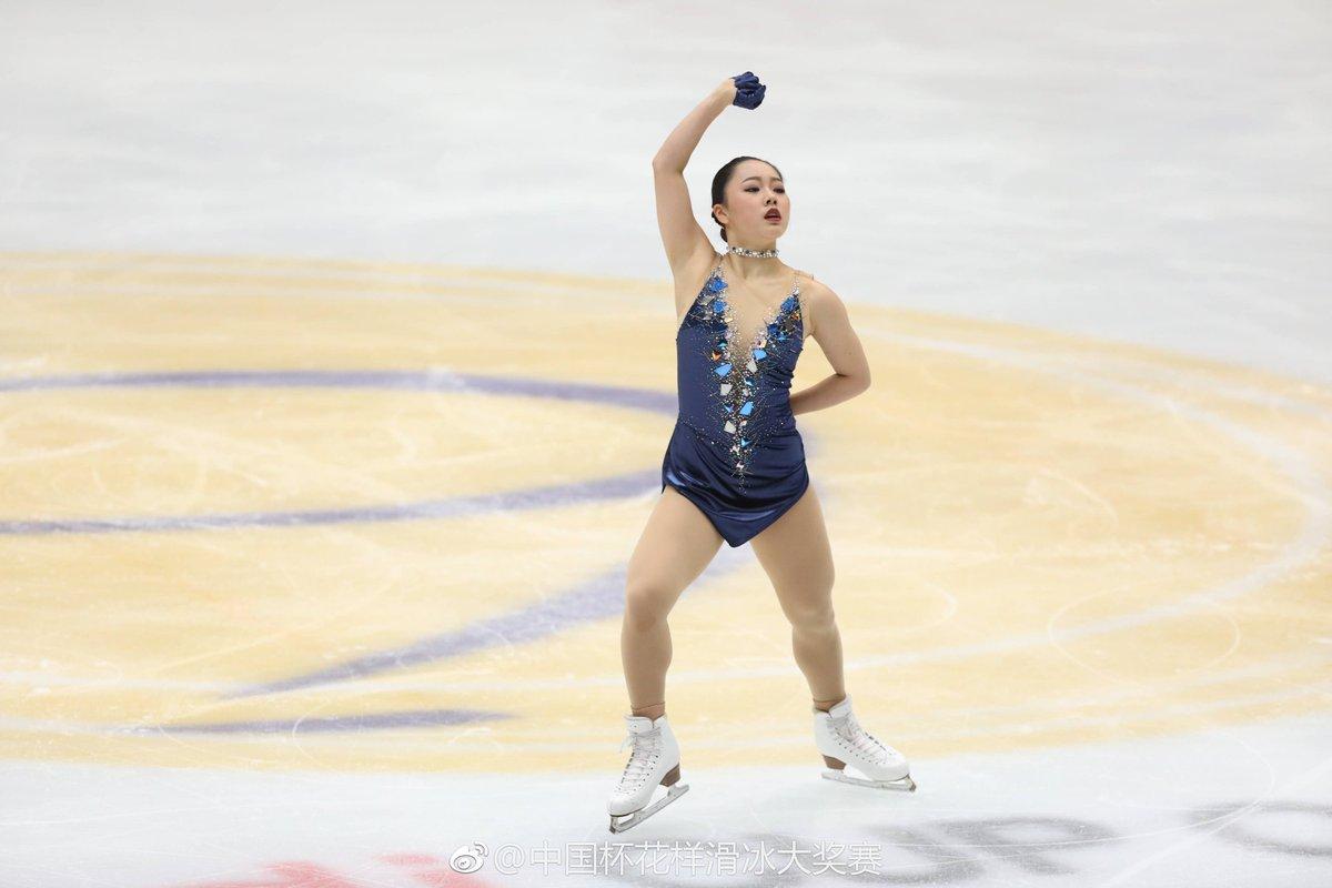 中国杯2017。優勝はロシアのアリーナ・ザギトワ。樋口新葉は渾身の演技で2位に。三原舞依は4位、本田真凜は5位でフィニッシュ
